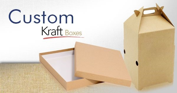 Improve your Brand's Growth with Custom Kraft Packaging Boxes